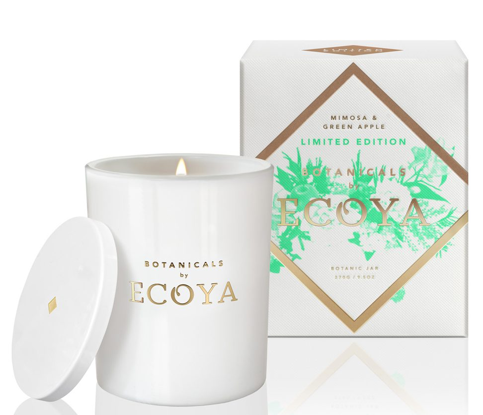 Ecoya Mimosa and Green Apple Candle