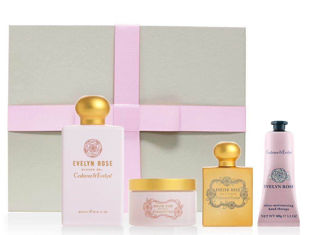 Crabtree and Evelyn Evelyn Rose Ultimate Luxury Set