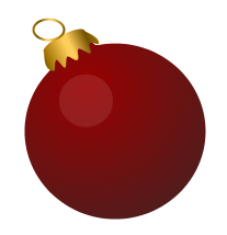 red-bauble