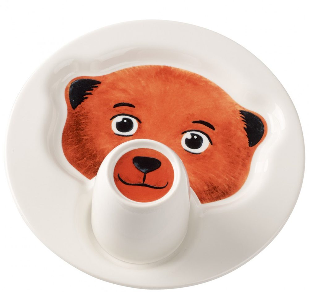 Villeroy and Boch Animal Friends Bear Plate and Mug Set